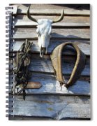 Tool Shed Spiral Notebook