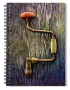 Tools On Wood 58 Spiral Notebook