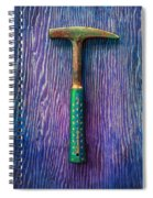 Tools On Wood 64 Spiral Notebook