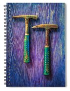 Tools On Wood 65 Spiral Notebook