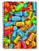Tootsie Fruit Chews Spiral Notebook