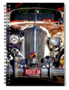 Top Model On Route 66 Spiral Notebook