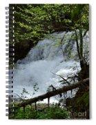 Top Of Clear Creek Falls Spiral Notebook