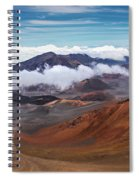 Top Of Haleakala Crater Spiral Notebook