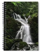 Top Of Mouse Creek Falls  Spiral Notebook