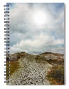 Top Of The Dunes Spiral Notebook