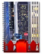Top Of The Rock Spiral Notebook