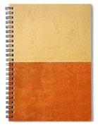 Topaz Pink Orange Spiral Notebook