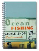 Topsail Island 1996 Ocean City Spiral Notebook