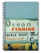 Topsail Island Ocean City 1996 Spiral Notebook
