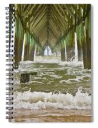 Topsail Island Pier Spiral Notebook