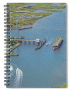 Topsail Island Top Of The Hour Spiral Notebook