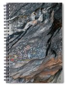 Toquima Cave Pictographs 2 Spiral Notebook