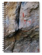 Toquima Cave Pictographs Spiral Notebook