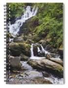 Torc Waterfall In Killarney National Spiral Notebook