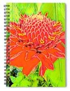 Torch Ginger Aloha Spiral Notebook
