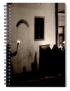 Torchlit Procession Spiral Notebook