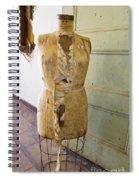 Torn Dress Form Spiral Notebook