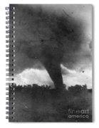 Tornado, C1913-1917 Spiral Notebook