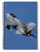 Tornado Gets Airborne  Spiral Notebook