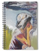 Tornado Girl Spiral Notebook