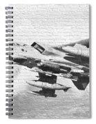 Tornado Gr4 Graffiti Spiral Notebook