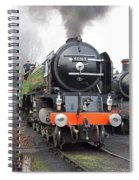 Tornado  Living Steam Spiral Notebook
