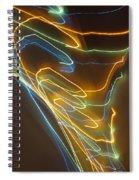 Tornado Of Lights. Dancing Lights Series Spiral Notebook