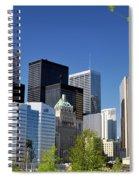 Toronto Downtown Skyline Spiral Notebook
