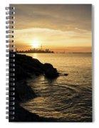 Toronto Lakeshore Vortex - Spiral Notebook