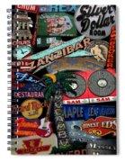 Toronto Neon Spiral Notebook