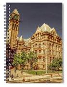 Toronto Old City Hall  Spiral Notebook