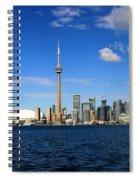 Toronto Skyline 26 Spiral Notebook