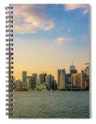 Toronto Skyline At Sunset Spiral Notebook