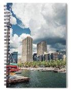 Toronto - Skyline / Harbourfront Spiral Notebook
