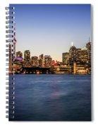 Toronto Sundown Spiral Notebook