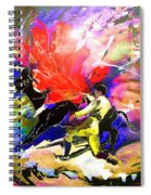 Toroscape 06 Spiral Notebook
