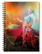 Toroscape 25 Spiral Notebook
