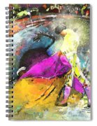 Toroscape 28 Spiral Notebook