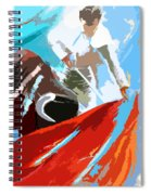Toroscape 32 Spiral Notebook