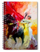 Toroscape 41 Spiral Notebook