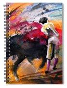 Toroscape 53 Spiral Notebook
