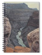 Toroweap Overlook Grand Canyon North Rim Spiral Notebook