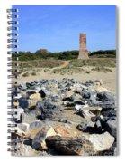 Torre De Los Ladrones At Cabopino Spiral Notebook