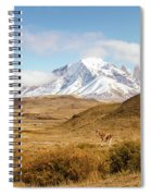 Torres Del Paine Spiral Notebook