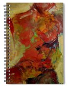 Torso Spiral Notebook
