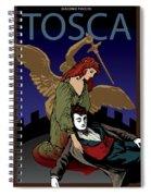 Tosca Spiral Notebook