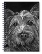 Tosha The Highland Terrier Spiral Notebook
