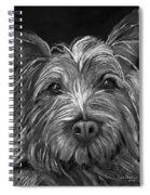 Tosha The Highland Terrier Spiral Notebook