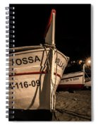 Tossa De Mar By Night Spiral Notebook